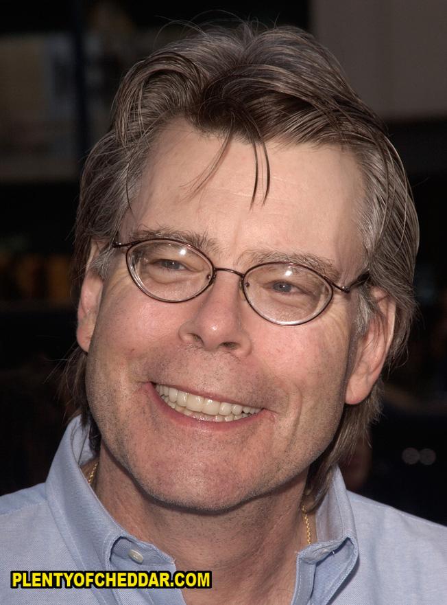 Stephen King Net Worth Plenty Of Cheddar
