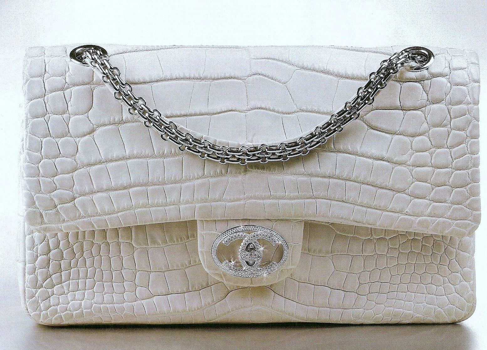 The Chanel Diamond Forever Classic Handbag 261k