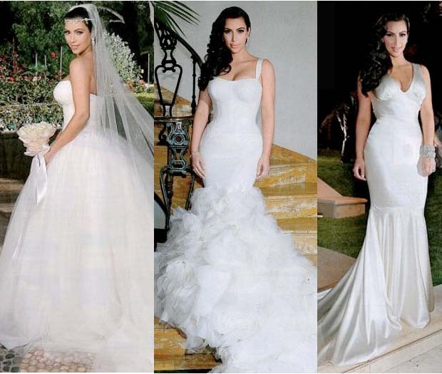 Kim kardashian wedding dress hair2014blogspotcom for Kim kardashian s wedding dress
